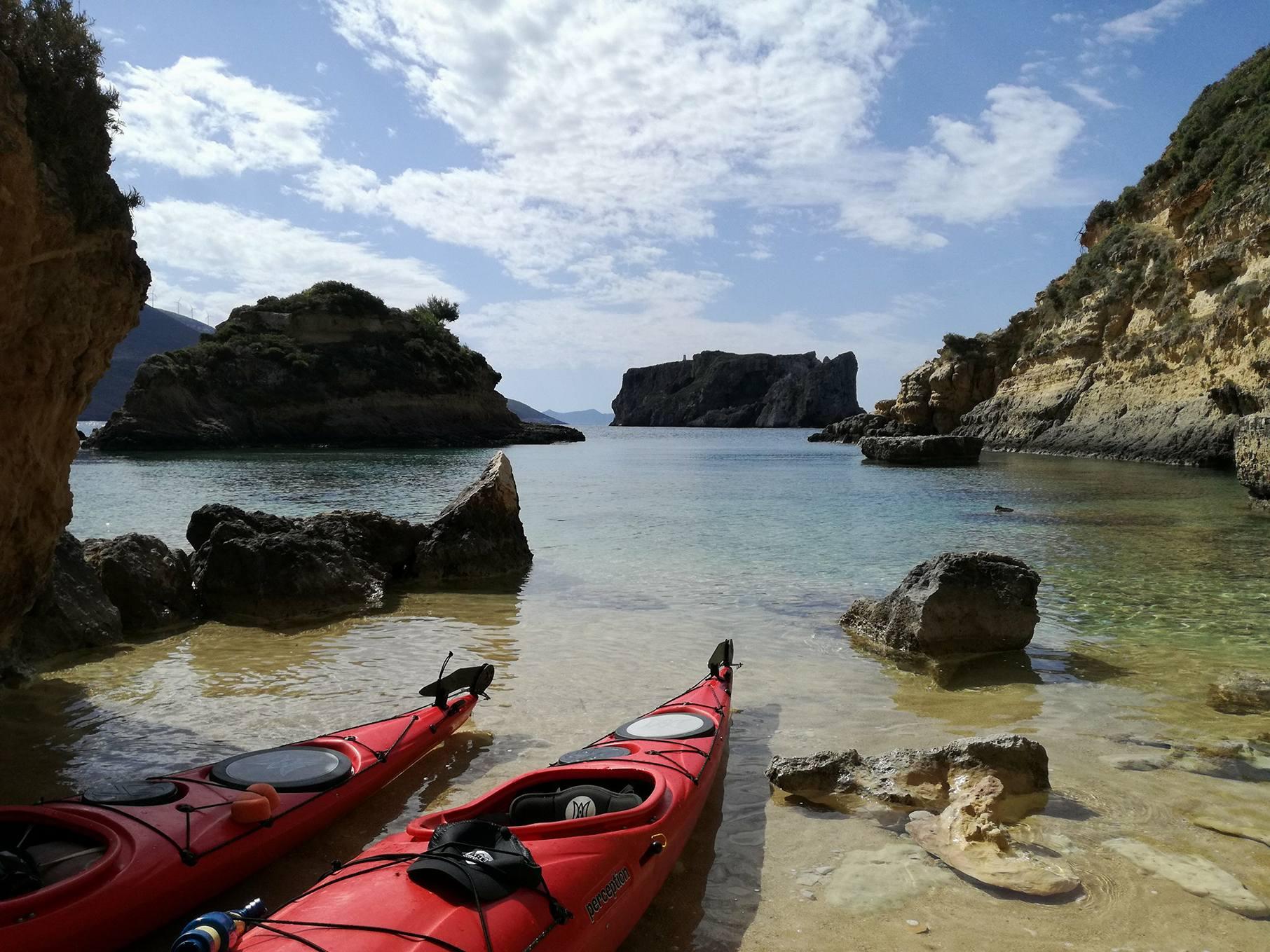 Navarino Bay Kayaks beach